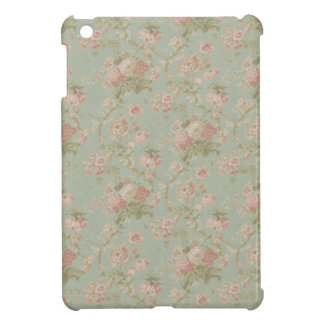 Vintage Victorian Cottage Rose Case iPad Mini Cover