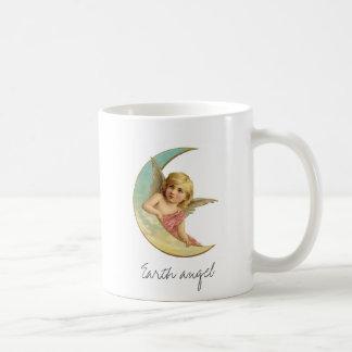 Vintage Victorian Earth Angel Moon Girl Coffee Mug