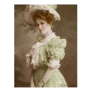 Vintage Victorian Edwardian Tinted Postcard 23