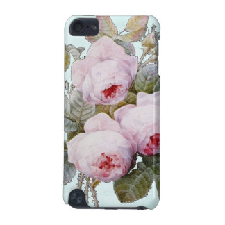 Vintage Victorian English Roses On Baby Blue iPod Touch (5th Generation) Cases