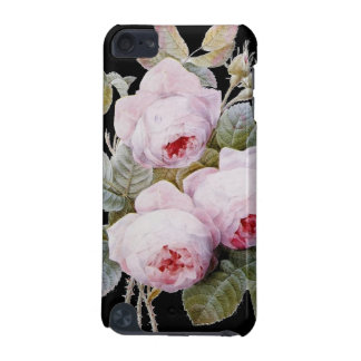 Vintage Victorian English Roses On Black iPod Touch 5G Case