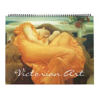 Vintage Victorian Era and Pre-Raphaelite Art Calendars
