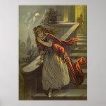 Vintage Victorian Fairy Tale, Cinderella Poster