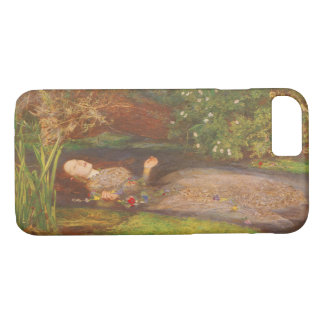 Vintage Victorian Fine Art, Ophelia by Millais iPhone 8/7 Case