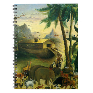 Vintage Victorian Folk Art, Noah's Ark by Hidley Notebooks