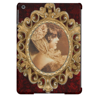 Vintage Victorian Girl Illustration iPad Air Case