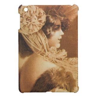 Vintage Victorian Girl Illustration iPad Mini Covers