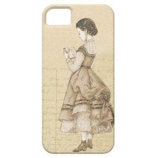 Vintage Victorian Girl iPhone 5 Cover