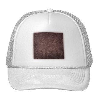 Vintage Victorian Grunge - Chocolate Swirls Trucker Hat