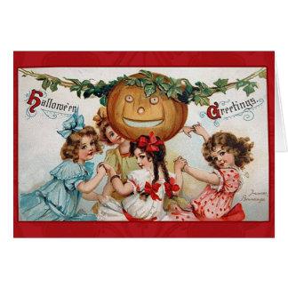 Vintage Victorian Halloween Greetings Cards