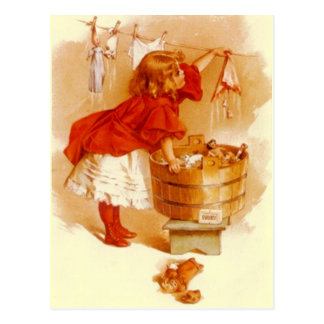 VINTAGE VICTORIAN Ivory Soap Advertising POSTCARD