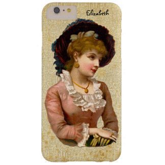 Vintage Victorian Ladies Fashion iPhone 6+ Case Barely There iPhone 6 Plus Case