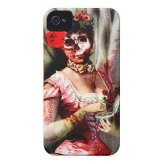 Vintage Victorian Lady Vanity Skull iPhone 4 Cover