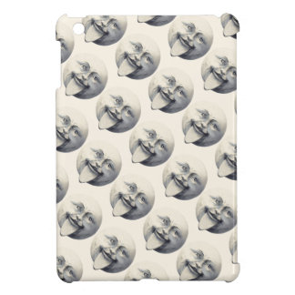 Vintage/Victorian Man in the Moon Personnalised iPad Mini Covers