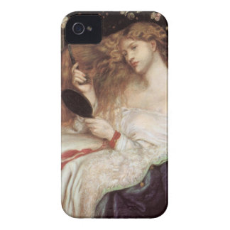 Vintage Victorian Portait, Lady Lilith by Rossetti iPhone 4 Case-Mate Case
