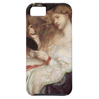 Vintage Victorian Portait, Lady Lilith by Rossetti iPhone 5 Case