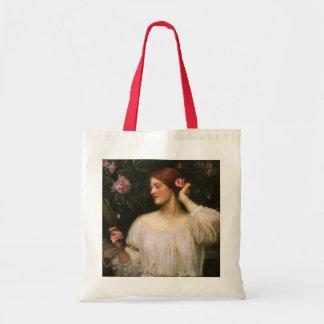 Vintage Victorian Portrait, Vanity by Waterhouse Budget Tote Bag