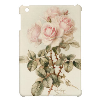 Vintage Victorian Romantic Roses iPad Mini Case