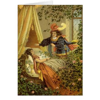 Vintage Victorian Sleeping Beauty Fairy Tale Cards