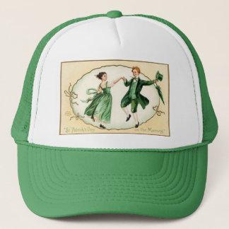 Vintage Victorian St. Patrick's Day Cap