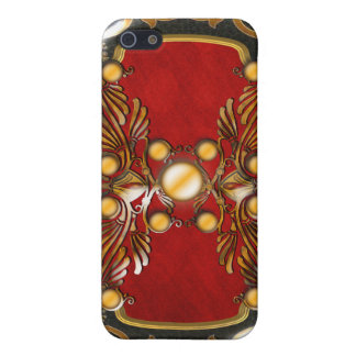 Vintage victorian swirls elegant ruby cover for iPhone 5/5S