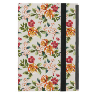 Vintage Victorian Watercolor Floral Pattern iPad Mini Case
