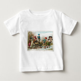 Vintage Victorian Yule Log Baby or Youth T-Shirt