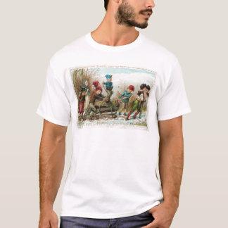 Vintage Victorian Yule Log T-Shirt