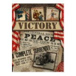 "Vintage ""Victory"" WWI Scrapbook Postcard"