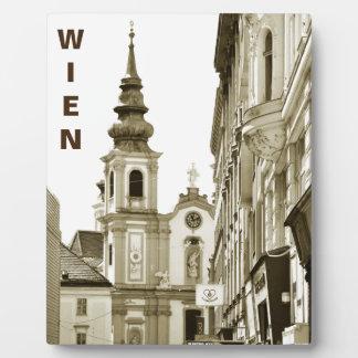 Vintage Vienna, Austria Plaque