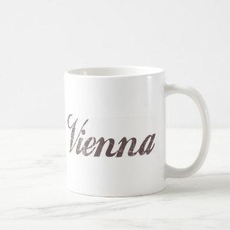 Vintage Vienna Basic White Mug