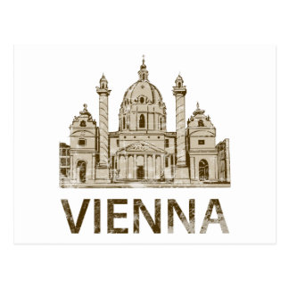 Vintage Vienna Post Card