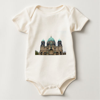 Vintage view of Berlin Cathedral (Berliner Dom) Baby Bodysuit