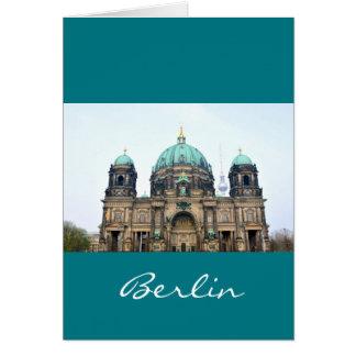 Vintage view of Berlin Cathedral (Berliner Dom) Card
