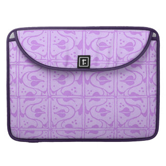 Vintage Vines Lavender Macbook Pro Flap Sleeve Sleeve For MacBook Pro