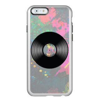 Vintage Vinyl Music Record Nightclub Or Dance Fan Incipio Feather® Shine iPhone 6 Case