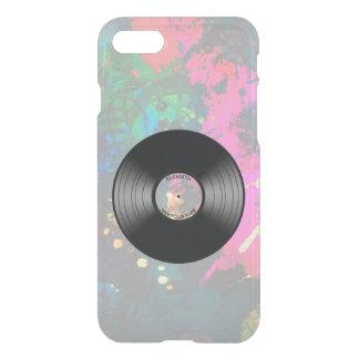 Vintage Vinyl Music Record Nightclub Or Dance Fan iPhone 7 Case
