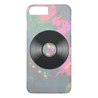 Vintage Vinyl Music Record Nightclub Or Dance Fan iPhone 7 Plus Case