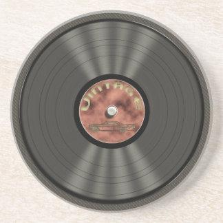Vintage Vinyl Record Coaster