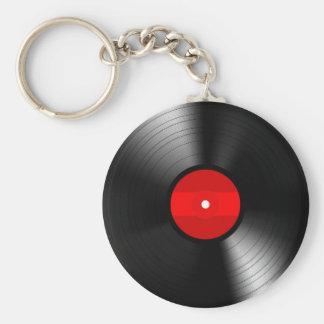 Vintage Vinyl Record Keychain