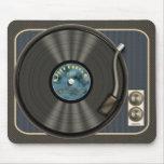Vintage Vinyl Record Mousepad