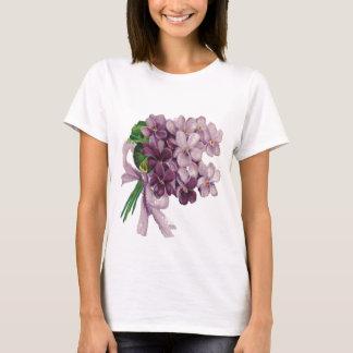 Vintage Violets Nosegay Bouquet Women's T-Shirt