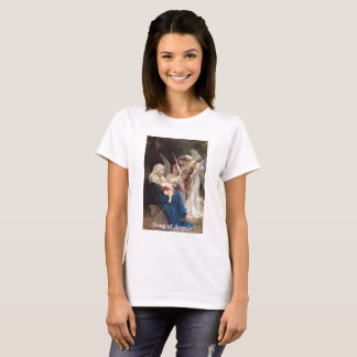 Vintage Virgin Mary Song of Angels T-Shirt