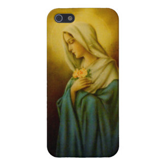 Vintage Virgin Mary St. Mary iPhone Case Case For The iPhone 5