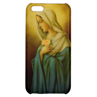 Vintage Virgin Mary St. Mary iPhone Case iPhone 5C Cover