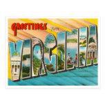 Vintage Virginia Postcard