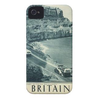Vintage Visit Britain Tourism Poster Case-Mate iPhone 4 Case