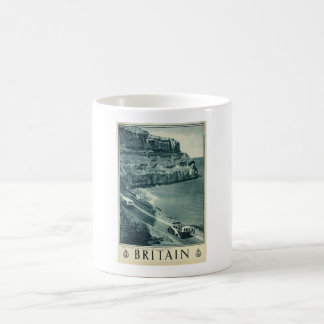 Vintage Visit Britain Tourism Poster Coffee Mug