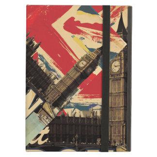 Vintage Visit London poster iPad Air Covers