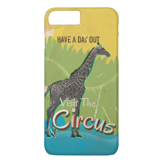 Vintage Visit the circus Poster art iPhone 7 Plus Case